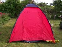 Eurohike 225TS 2 man tents.