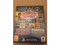PS (Playstation) Vita 10 Indie Games Pack With 4Gb Micro SD Card Brand New & Sealed