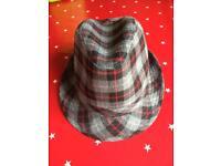Boy's trilby hats x2