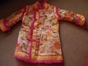 one piece Chinese costume girl age 4-6