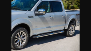 Brand new running boards of a 2017 f-150 fits almost all years
