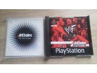 WWF Attitude PS1 - New Condition