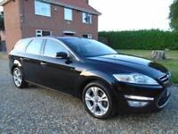 FULLY LOADED 2012 62 FORD MONDEO 2.0 TDCI 163 BHP DIESEL ESTATE ** TITANIUM X **