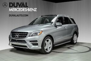 2014 Mercedes-Benz M-Class ML350 BlueTEC 4MATIC / SPORT+TOIT PAN