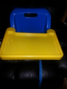 FISHER PRICE BOOSTER SEAT WITH TRAY