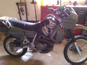 2003 Kawasaki klr 650 with ownership
