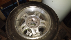 Rims and tires for S10 - 5x120.7 bolt circle