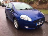 2007 Fiat Grande Punto 1.4 sport 11 months mot nice car cheap to run