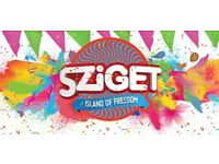 SZIGET Festival 5-day pass tickets