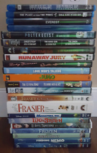 Movies and Blurays $15