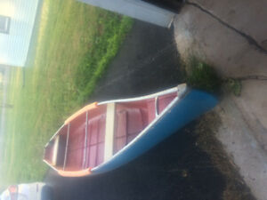 16 foot square back canoe
