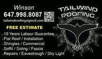Tailwind Roofing 《Free Estimate》