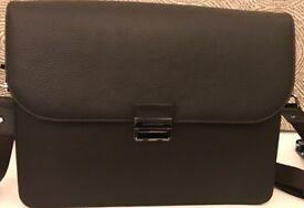 Aspinal of London Fleming Messenger Bag - Brown Pebble - Brand new