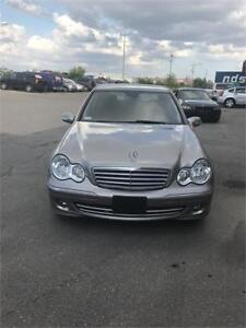 07 Benz c230 loded for sale certified