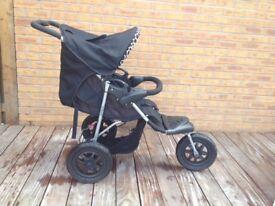 Mothercare Xtreme off-road Girraffe pram