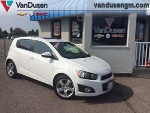 2015 Chevrolet Sonic  LT - 6AT  - $84.42 B/W