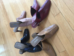 Shoes-all leather