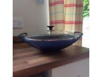 Le creuset wok