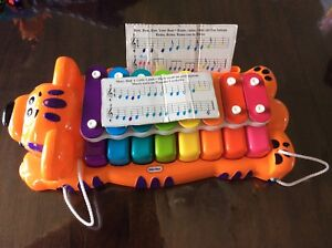 Xylophone, piano et guitare