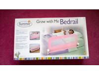 BRAND NEW UNOPENED BOX - SUMMER BED RAIL PINK
