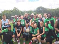Make new friends of different nationalities playing netball
