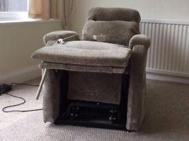 Used Single Motor Riser Recliner Chair