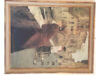 Venice scene canvas picture