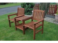 Garden Table and Chair Combo