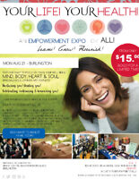 YOUR LIFE, YOUR HEALTH...AN EMPOWERMENT EXPO FOR WOMEN!