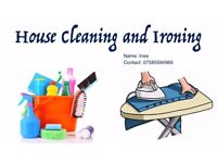 House Cleaning and Ironing