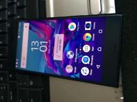 Sony xz blue 32gb on 02