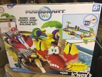 K'nex Mario Kart wii beach race building set BRAND NEW