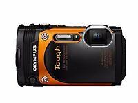 Lost: Olympus Camera (Black and Orange) REWARD