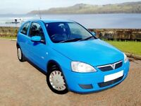 Ideal Corsa, Long MOT, 60 MPG, Only 5150 Miles Per Year.