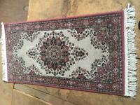 Lovely small rug