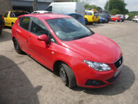 SEAT IBIZA 1.2 - EG59JJK - DIRECT FROM INS CO