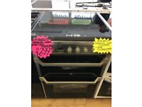 INDESIT BRAND NEW 60CM CEROMIC TOP ELECTRIC COOKER IN SILIVER