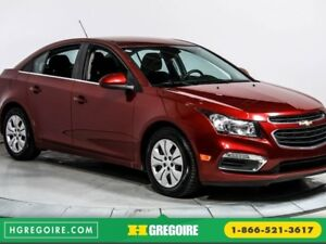 2016 Chevrolet Cruze LT AUTO A/C BLUETOOTH CAMERA RECUL