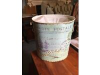 GIFTWARE: Waste paper bins, set of 3. Beautiful design. not your ordinary bin!! REDUCED TO CLEAR £14