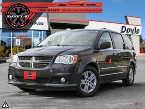 2011 Dodge Grand Caravan CREW PLUS STOW'N'GO 1-OWNER TRADE-IN!!!