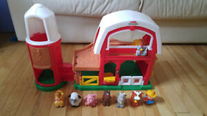 ferme fisher price 7 bonhommes