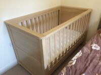Mama papa cot bed and lindam security gates