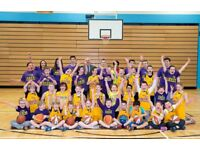 Youth Basketball Club Sessions - East Renfrewshire Lakers Basketball Club