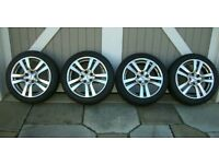 18 inch Rial Racing Alloy wheels and tyres 5x112 AUDI VW SEAT SKODA