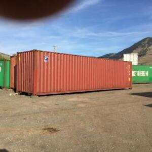 USED OR NEW 40' STORAGE /SHIPPING CONTAINERS