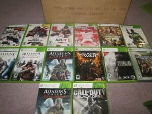 21 XBOX 360 Games Offers for Lot