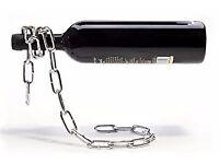 Corckscrew, Floating Chain Wine Bottle Holder, Wine Bottle Cooler