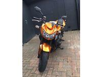 Kawasaki Z750 Orange 2010