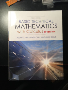 Basic Technical Mathematics with Calculus - si version