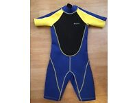 Kid's Shorty Wetsuit by Mountain Warehouse - age 11-12